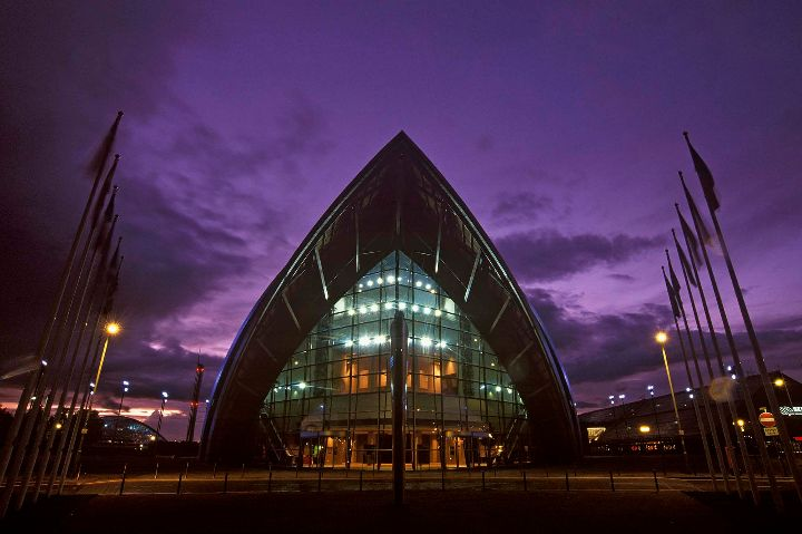 Clyde Auditorium, Glasgow.