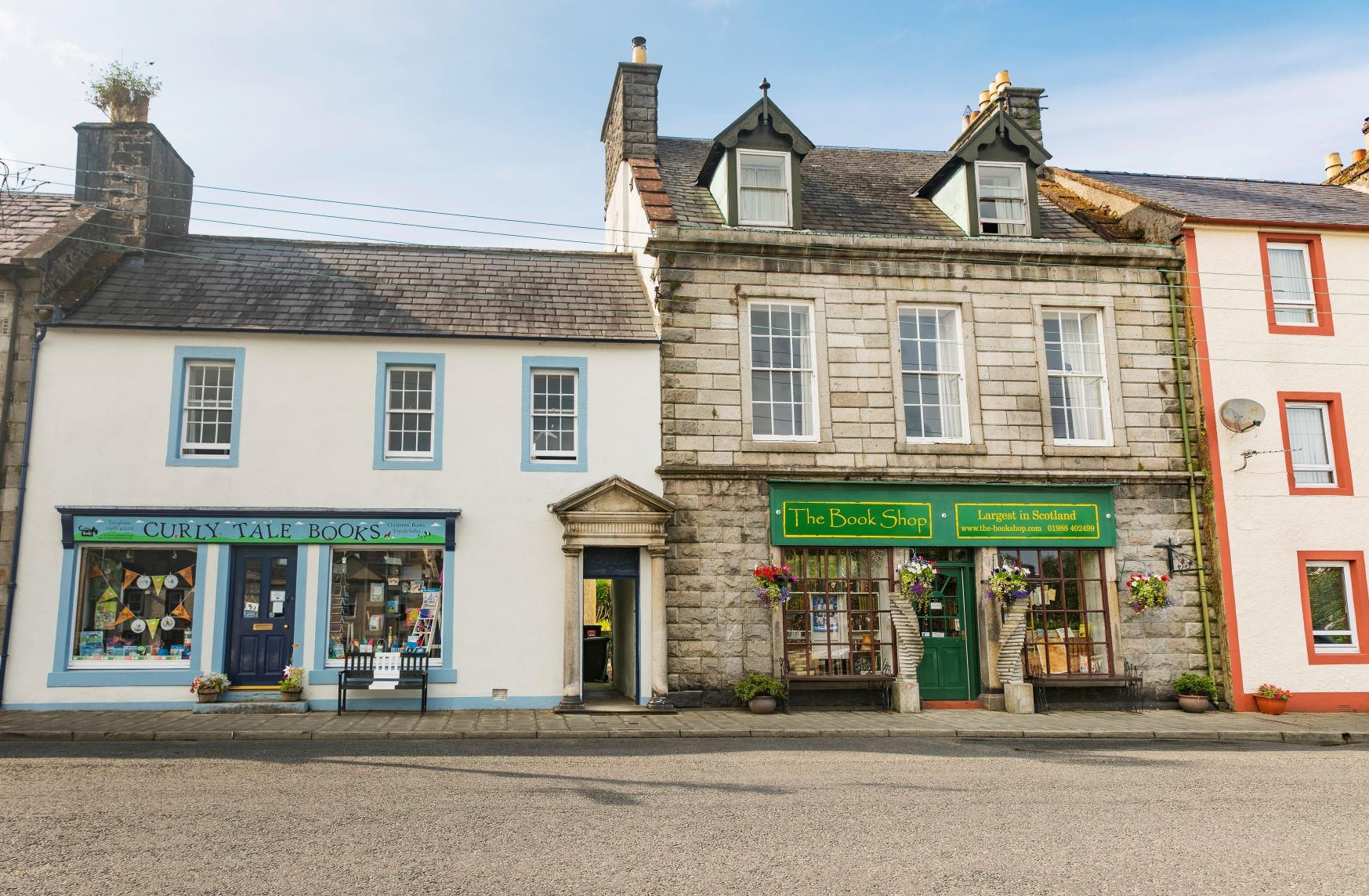 Curly Tale Books and The Book Shop, Wigtown
