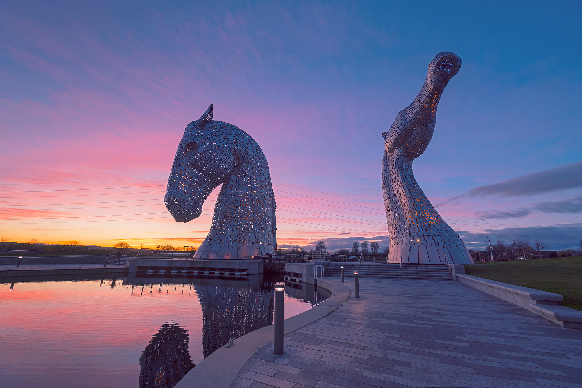 The Helix, Home of The Kelpies, Falkirk