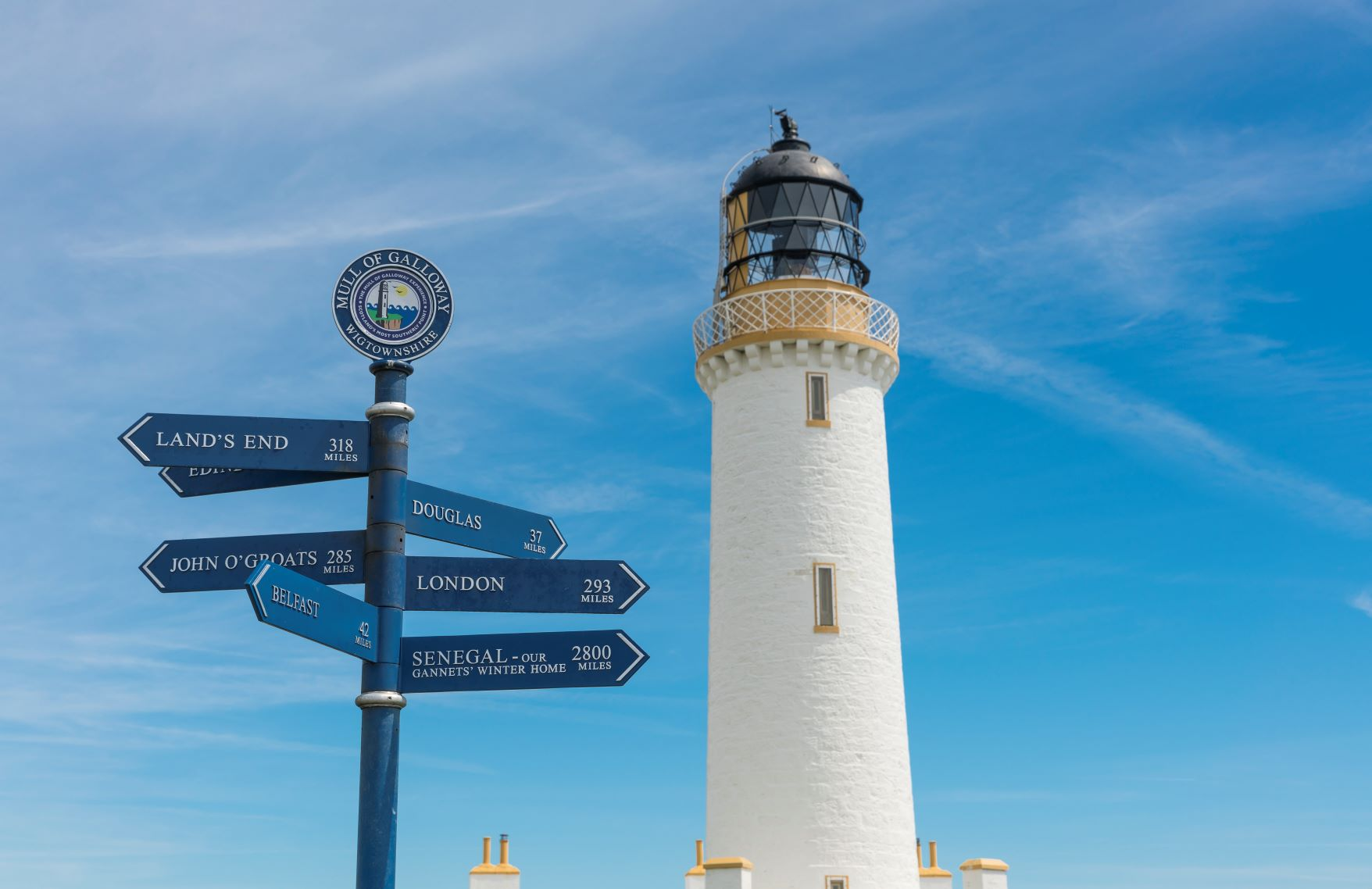 Mull of Galloway Lighthouse, Drummore, Dumfries & Galloway